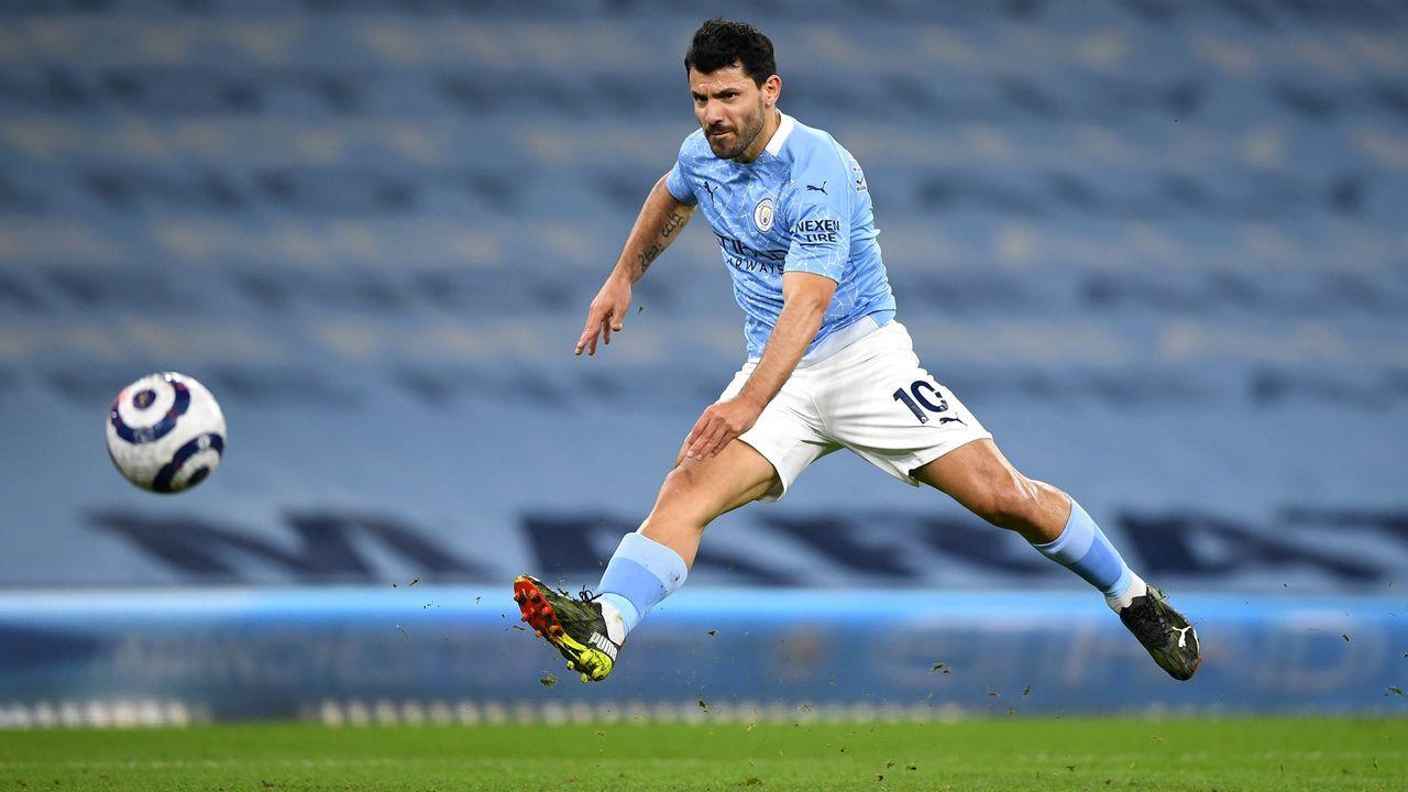 Sergio Agüero (seit 2011 bei Manchester City) - Bildquelle: 2021 Getty Images