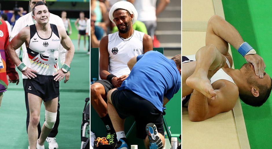 Die Verletzungen bei Olympia 2016 - Bildquelle: Imago/Getty Images