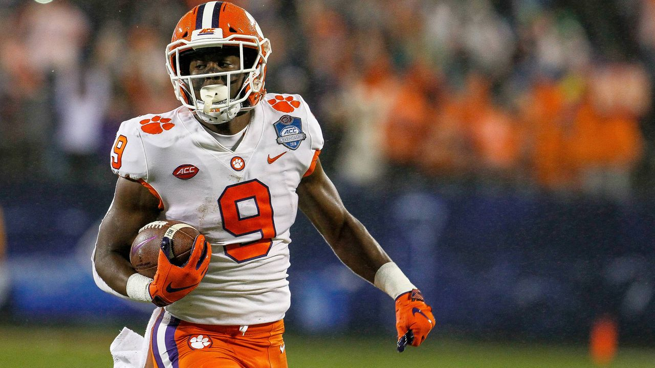 Travis Etienne (Running Back, Clemson) - Bildquelle: imago/ZUMA Press
