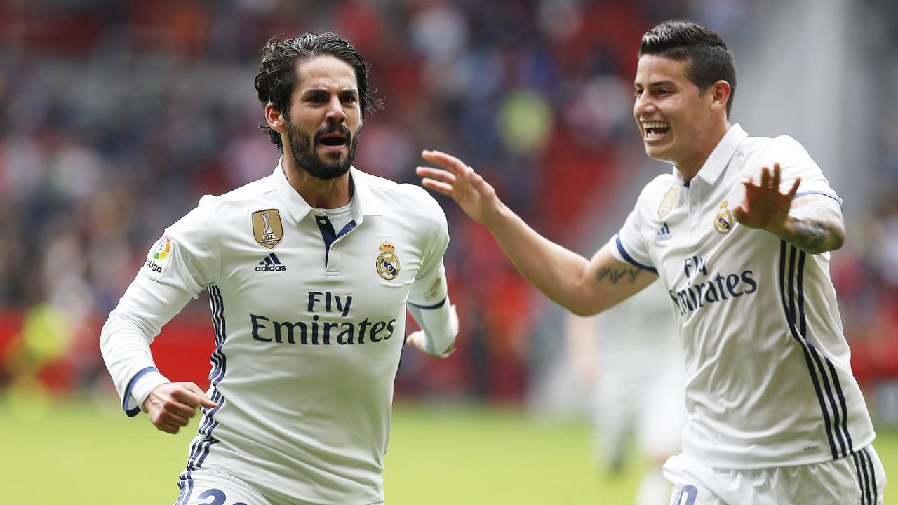 AC Mailand: James oder Isco? - Bildquelle: imago/Cordon Press/Miguelez Sports