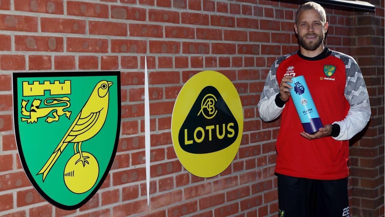 Teemu Pukki als erster Norwich-Profi zum Spieler des Monats gewählt - Bildquelle: 2019 Getty Images