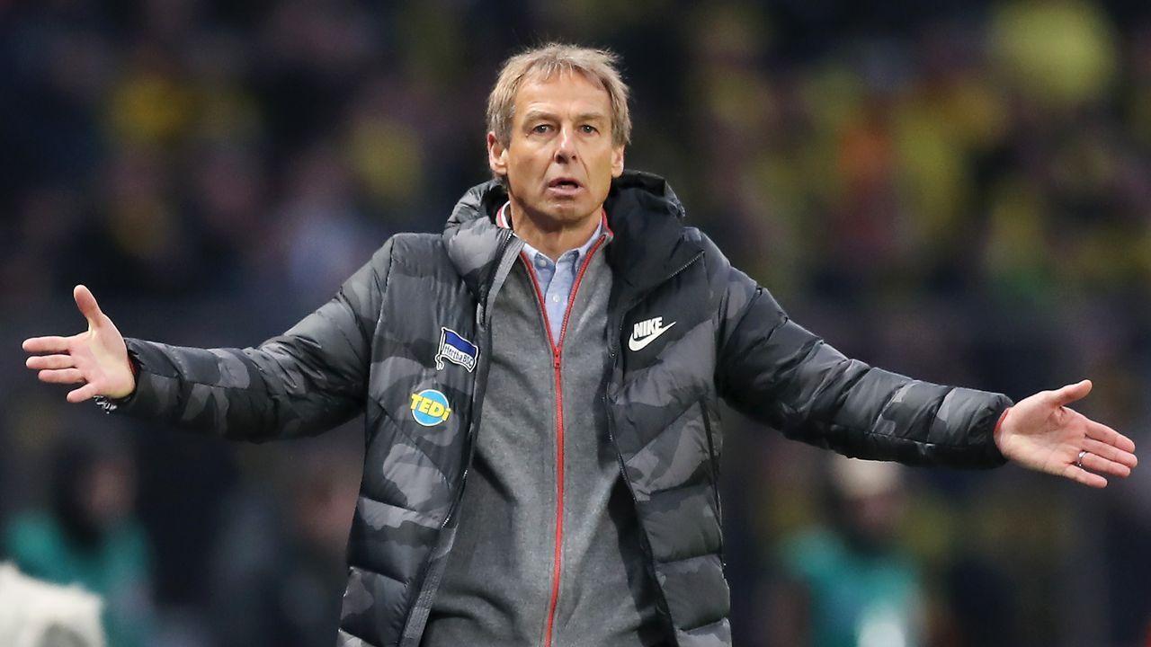 Erster Schock für den Hertha-Trainer - Bildquelle: getty images
