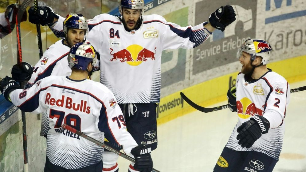 Red Bull München holte in der CHL den zweiten Sieg - Bildquelle: PIXATHLONPIXATHLONSID