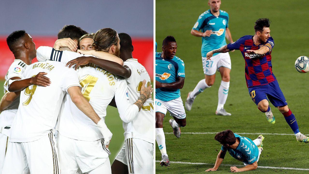 Real und Barca im Vergleich: Teamchemie - Bildquelle: Imago