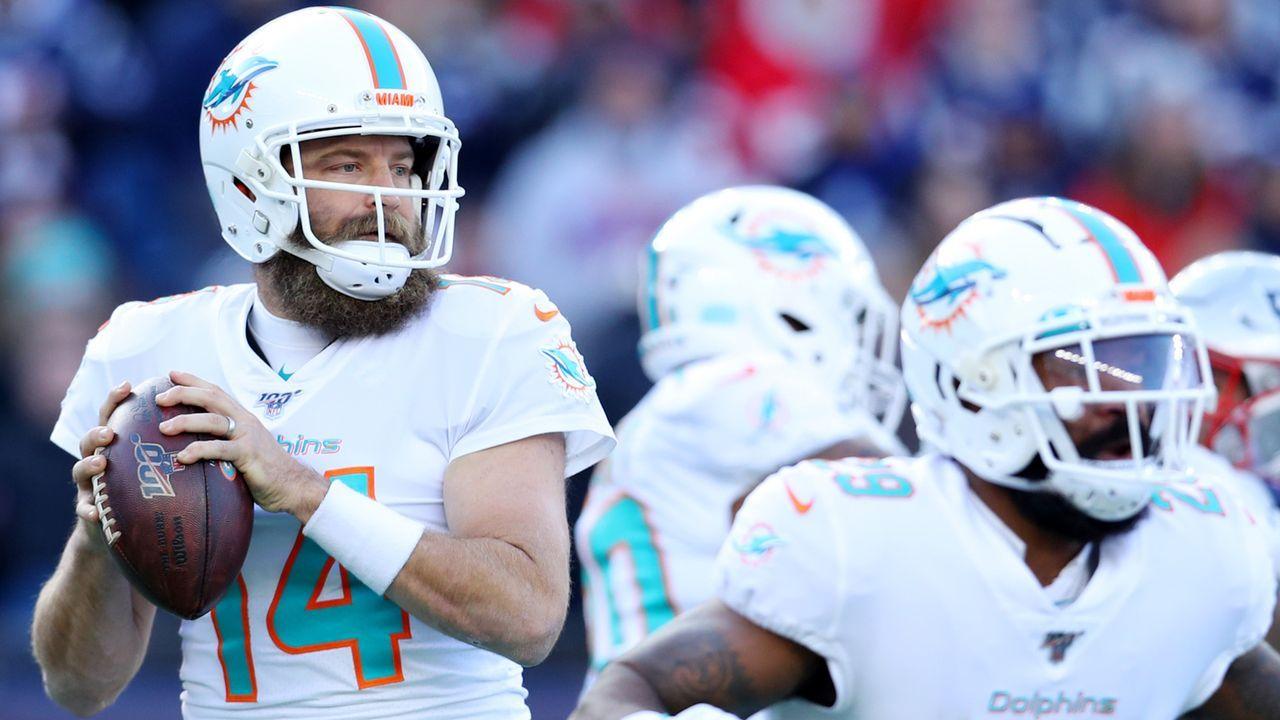 Platz 22: Miami Dolphins - Bildquelle: 2017 Getty Images