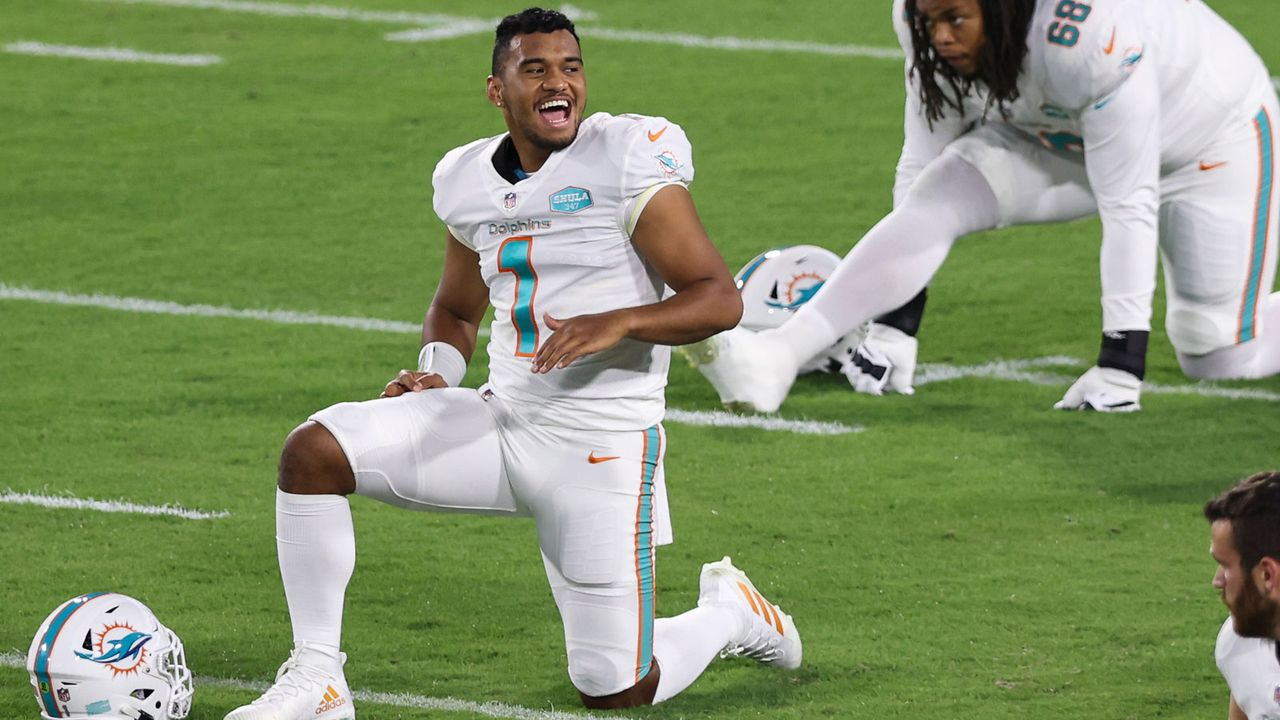 "8. Spieltag: ""Tua-Time"" in Miami - Bildquelle: 2020 Getty Images"