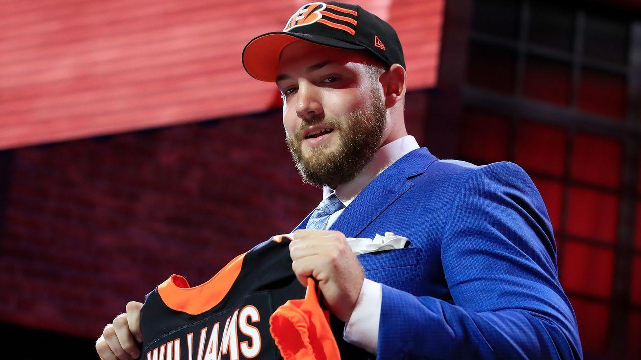 11. Pick - Cincinnati Bengals: OT Jonah Williams (Alabama) - Bildquelle: 2019 Getty Images