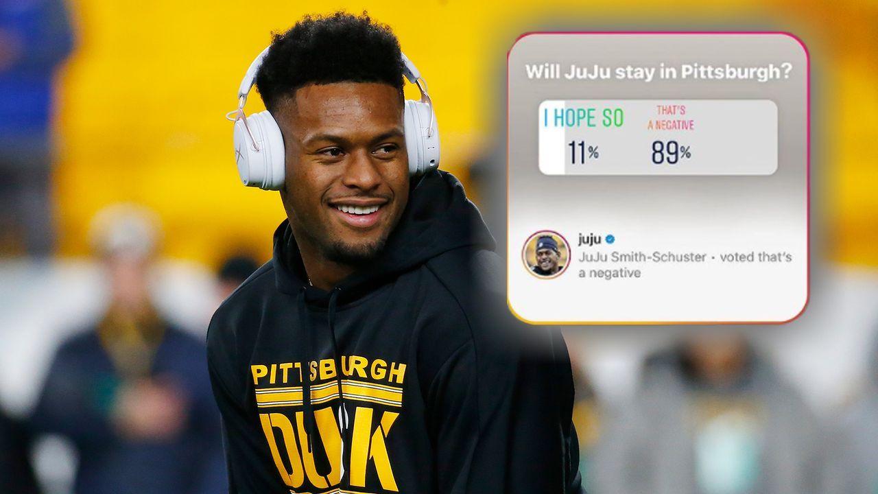 JuJu Smith-Schuster votet für eigenen Steelers-Abgang - Bildquelle: Getty Images/Instagram