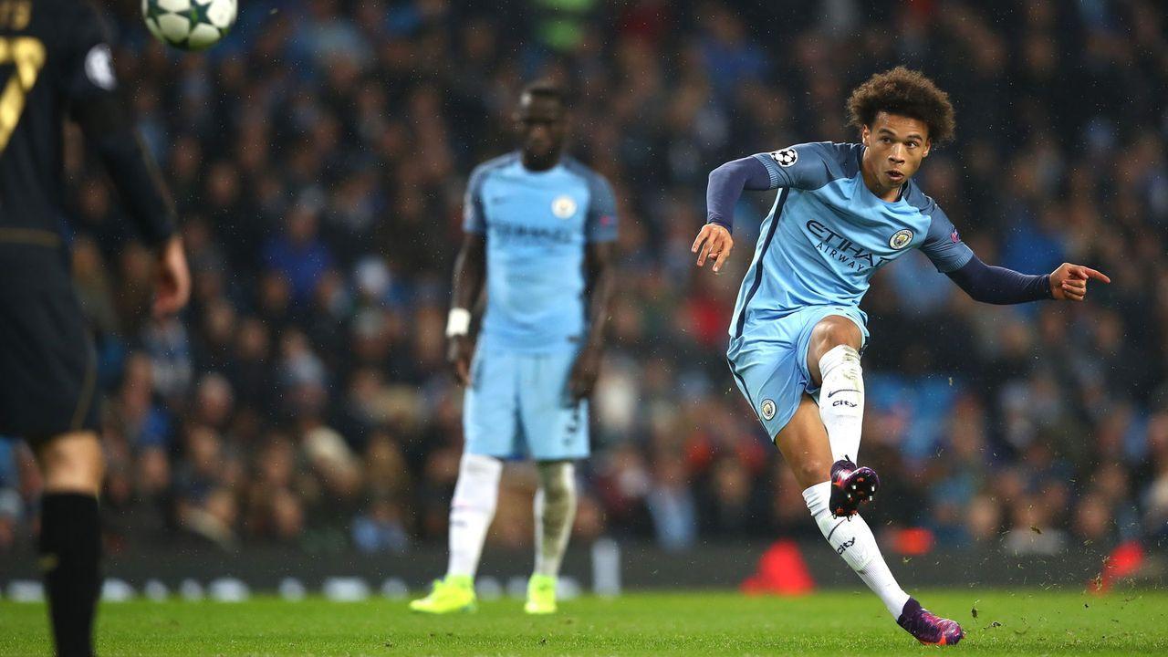 9. Platz: Manchester City 2016/17 - Bildquelle: 2016 Getty Images
