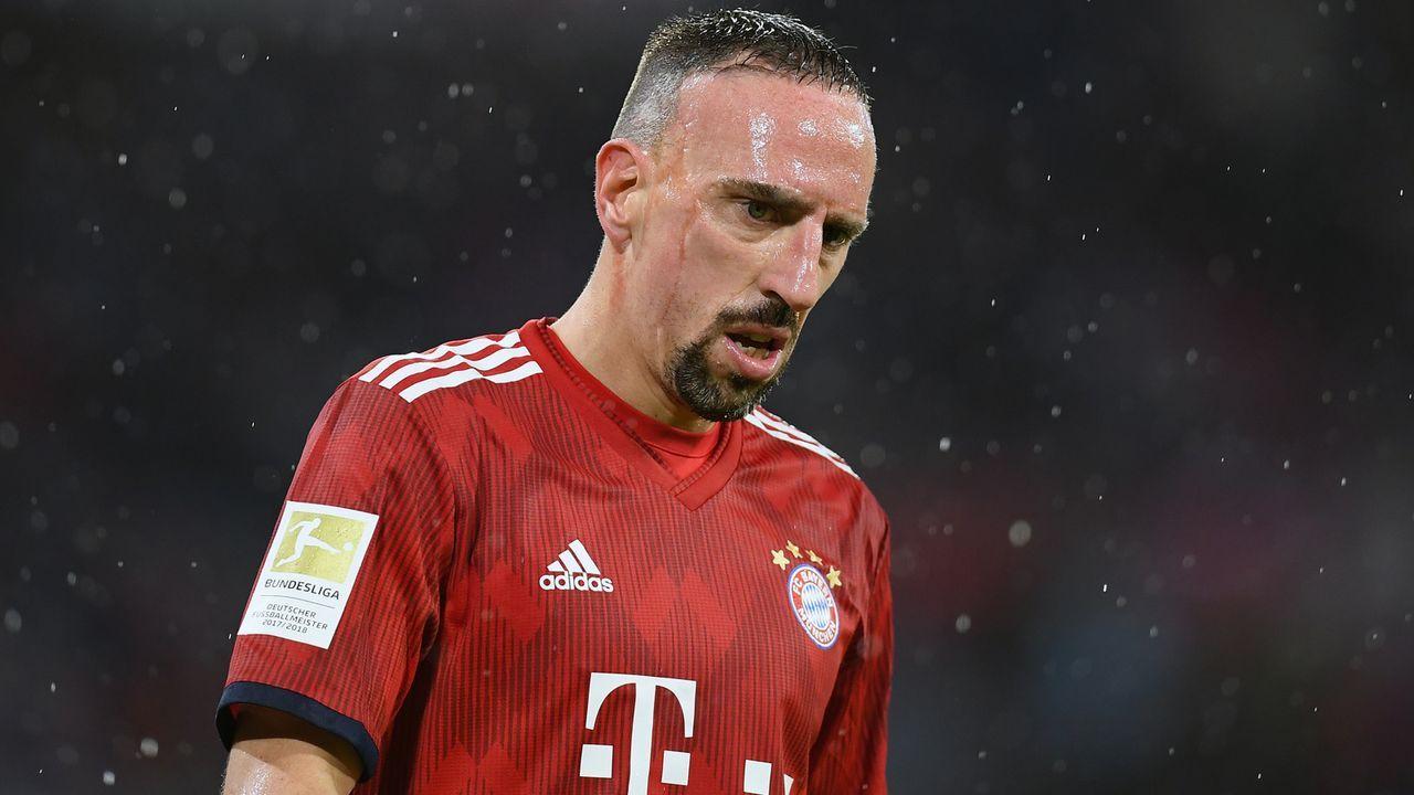 Platz 2 - Franck Ribery (FC Bayern München) - 178 Scorerpunkte - Bildquelle: 2019 Getty Images