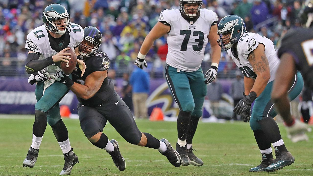 Ravens at Eagles - Bildquelle: 2016 Getty Images