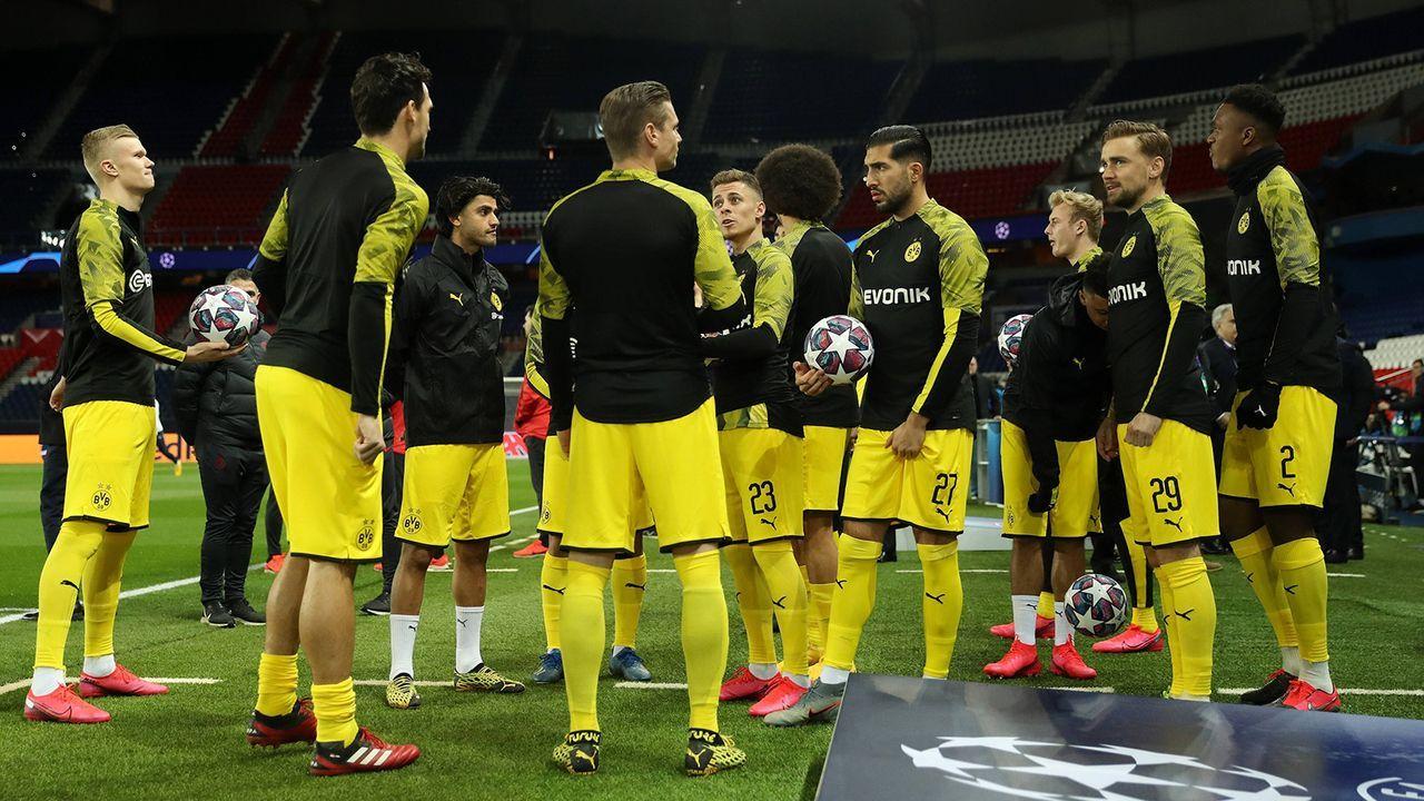 12. Borussia Dortmund - Bildquelle: 2020 imago