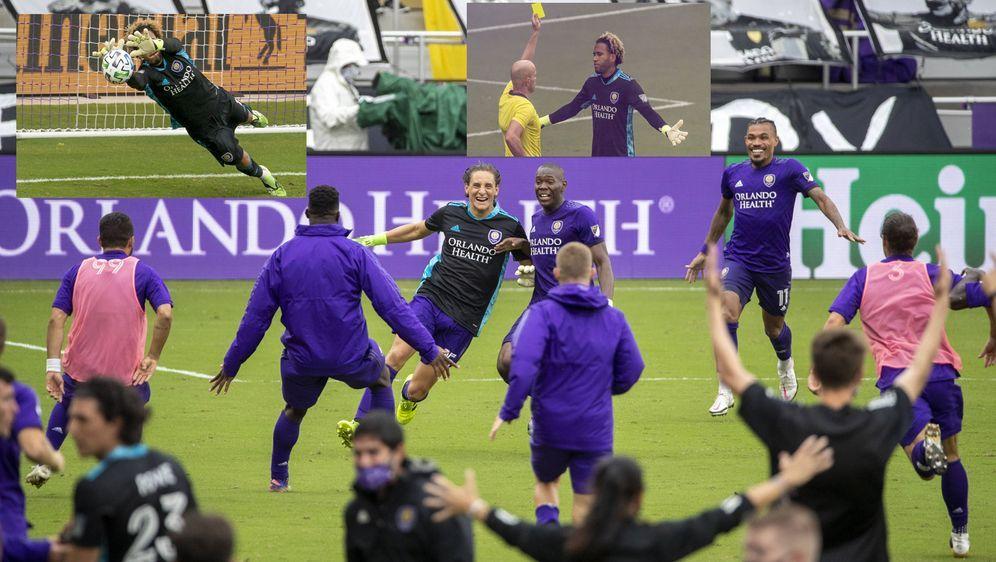 Dreimal wie die Sieger gejubelt, einmal gewonnen: Orlando City setzte sich e... - Bildquelle: imago