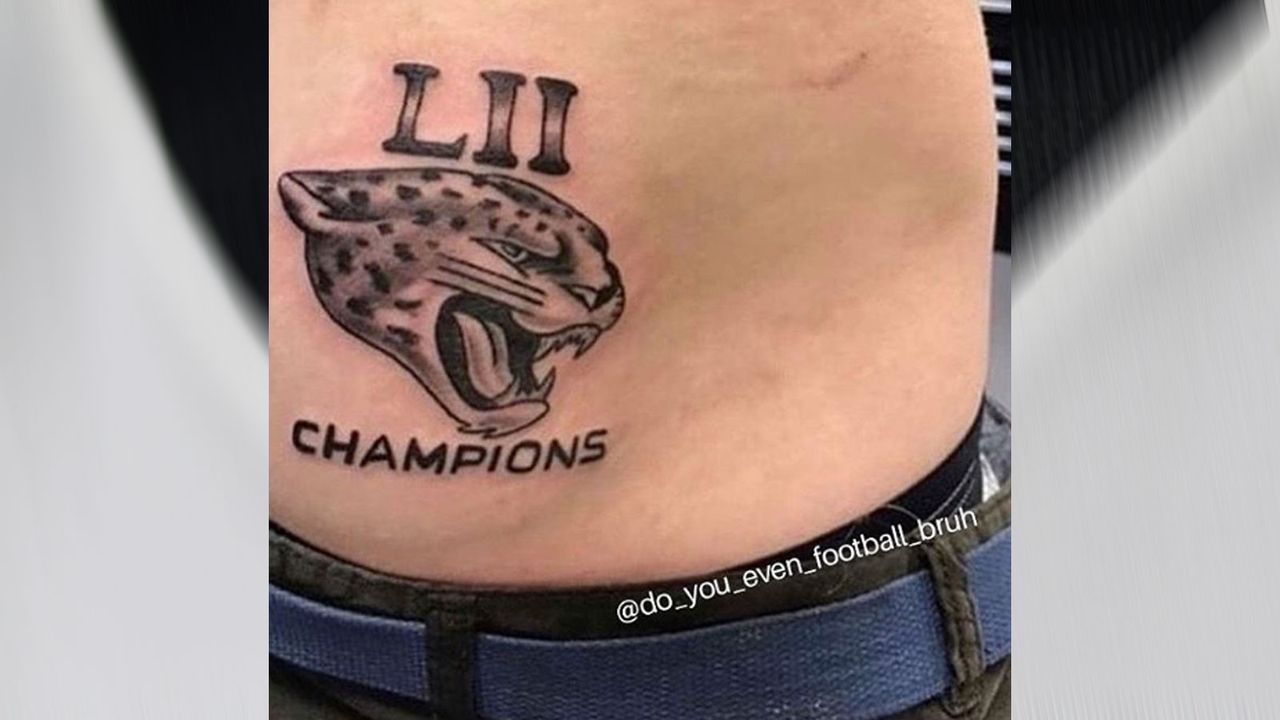 Jacksonville Jaguars als Super-Bowl-Champion - Bildquelle: 2019 Getty Images, Instagram/@do_you_even_football_bruh
