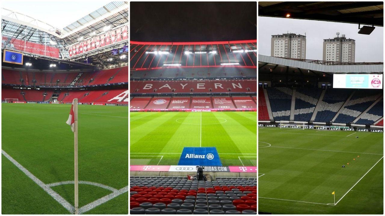 Stadien der EM 2021 und die geplante Auslastung - Bildquelle: Imago Images/Imago Images/Imago Images