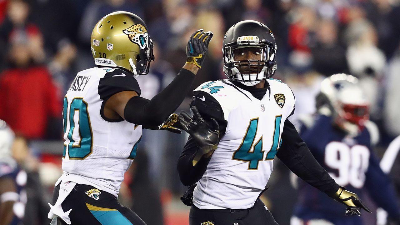 Platz 4: Jacksonville Jaguars - Bildquelle: 2018 Getty Images