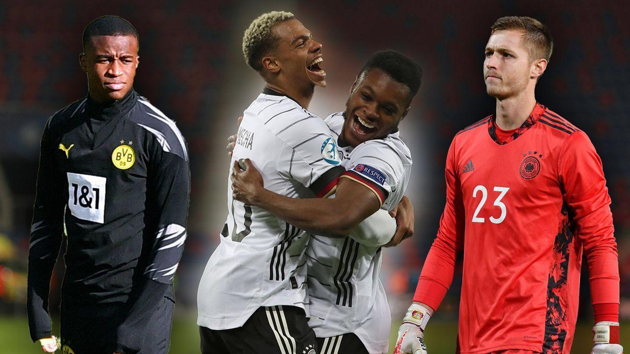 U21-EM-Finalrunde erreicht! Die Gewinner und Verlierer der deutschen U21 - Bildquelle: Imago Images