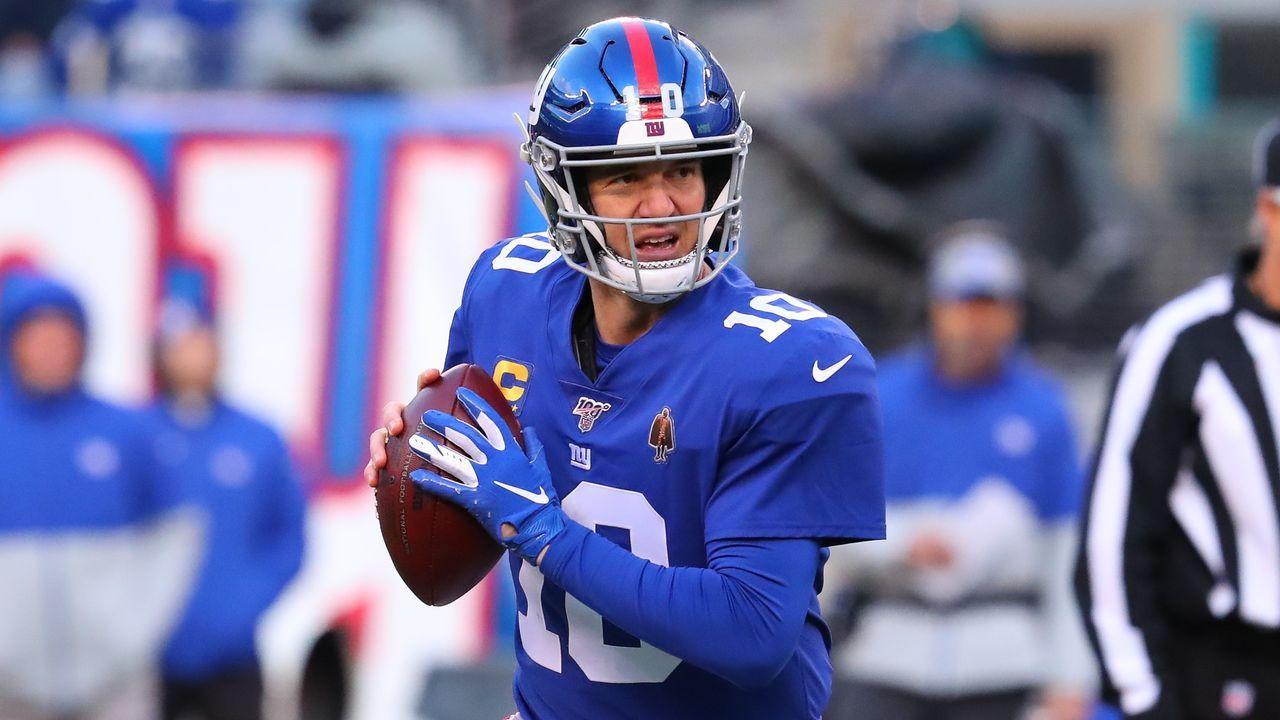 2016: Eli Manning (New York Giants) - Bildquelle: imago