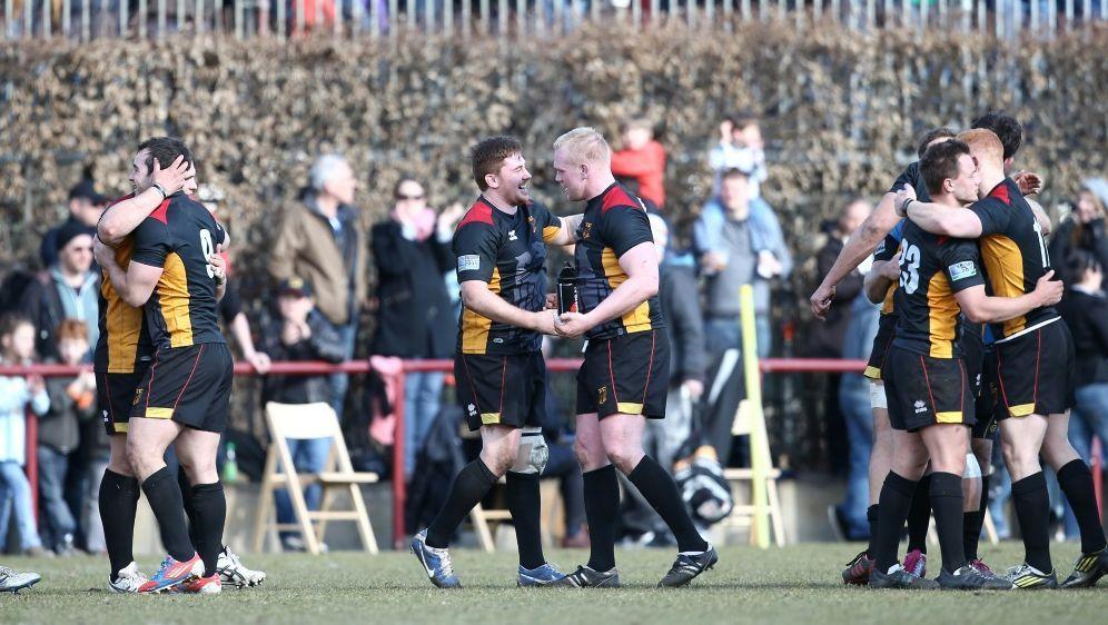 """Die """"Schwarzen Adler"""": Das Nationalteam im 15er-Rugby - Bildquelle: PIXATHLONPIXATHLONSID"""