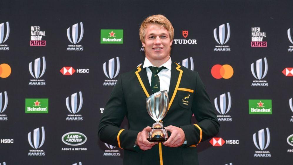 Pieter-Steph du Toit ist Rugbyspieler des Jahres - Bildquelle: AFPSIDKAZUHIRO NOGI
