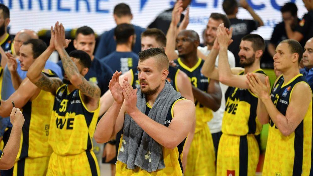 Die Baskets Oldenburg scheiden in der Gruppenphase aus - Bildquelle: FIROFIROSID