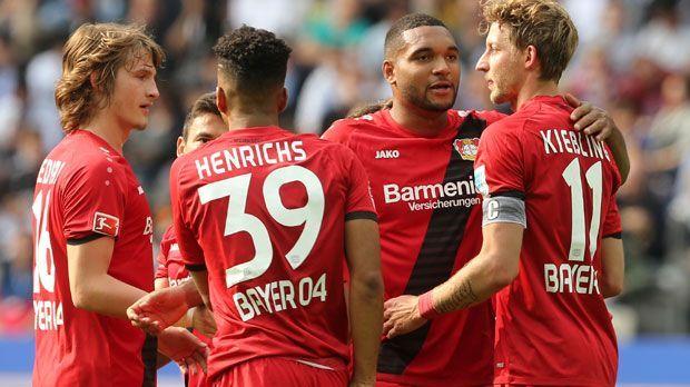 Platz 4: Bayer 04 Leverkusen - Bildquelle: 2017 Getty Images