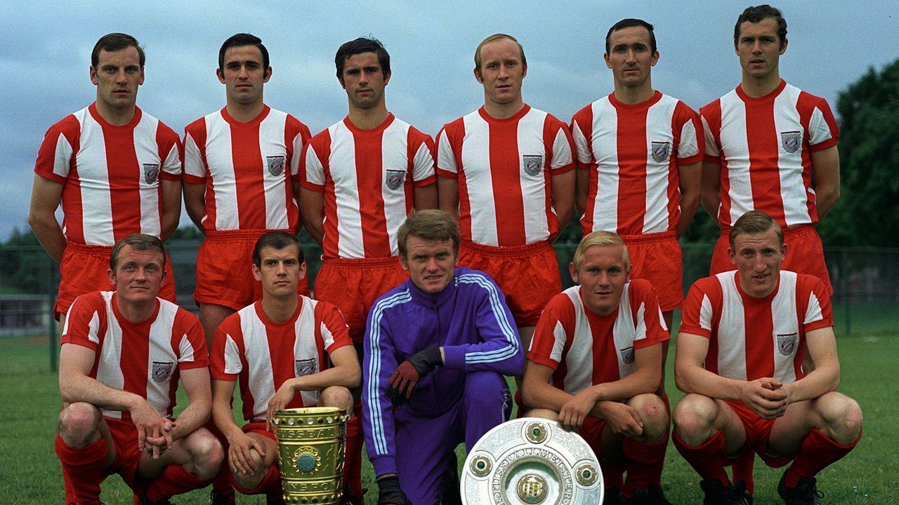 Heimtrikot der Saison 1969/70 - Bildquelle: Imago