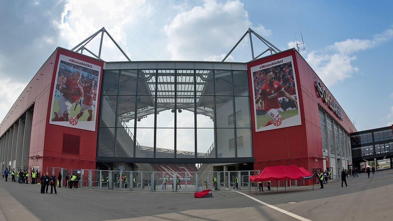 Platz 13: 1. FSV Mainz 05 - Opel Arena - Bildquelle: Getty