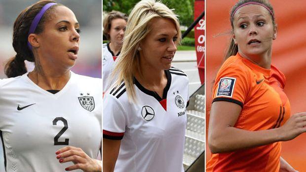 Fussball - Sexy und erfolgreich: Die heißesten Frauen der