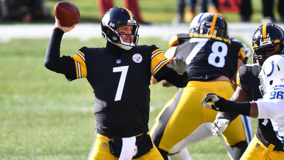 Auch in der kommenden Saison der Quarterback der Steelers: Ben Roethlisberge... - Bildquelle: Getty
