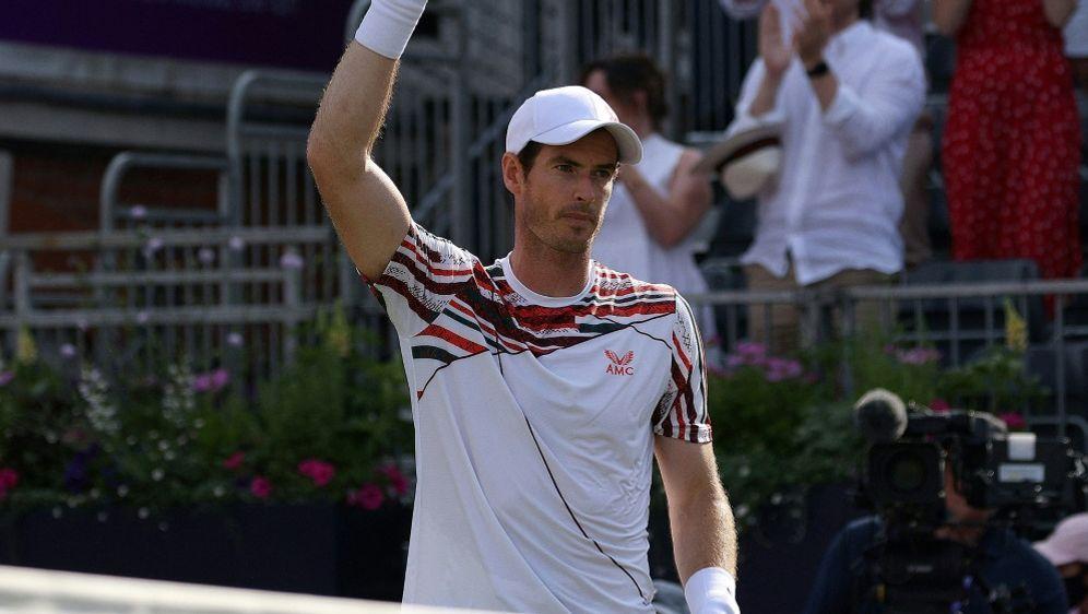 Andy Murray erhält für Wimbledon eine Wildcard - Bildquelle: AFPSIDADRIAN DENNIS