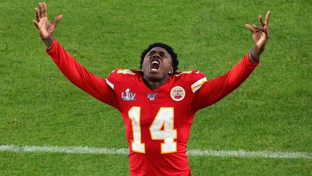 Will auch in der kommenden Saison den Super Bowl holen: Wide Receiver Sammy ... - Bildquelle: getty
