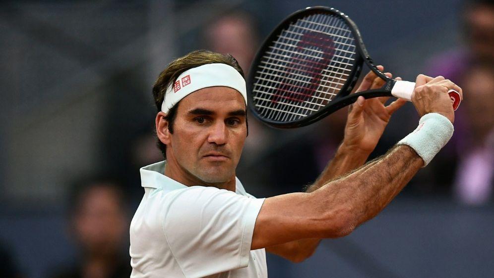 Roger Federer zieht ins Viertelfinale ein - Bildquelle: AFPSIDOSCAR DEL POZO