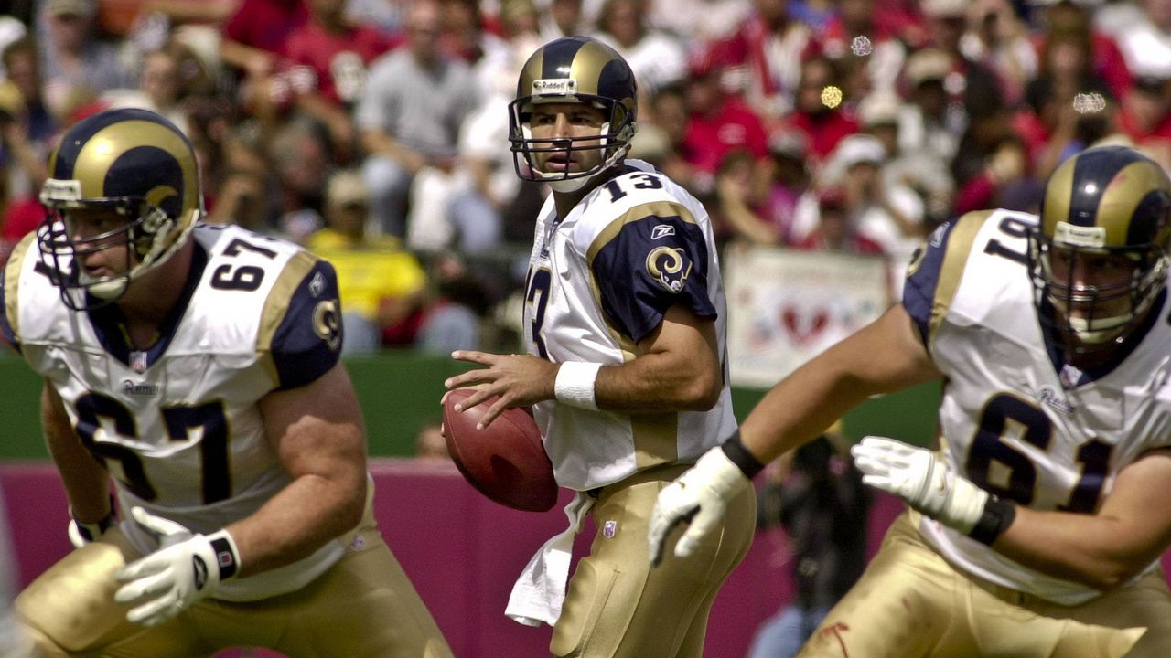 4. St. Louis Rams 2001 - Bildquelle: imago/ZUMA Press