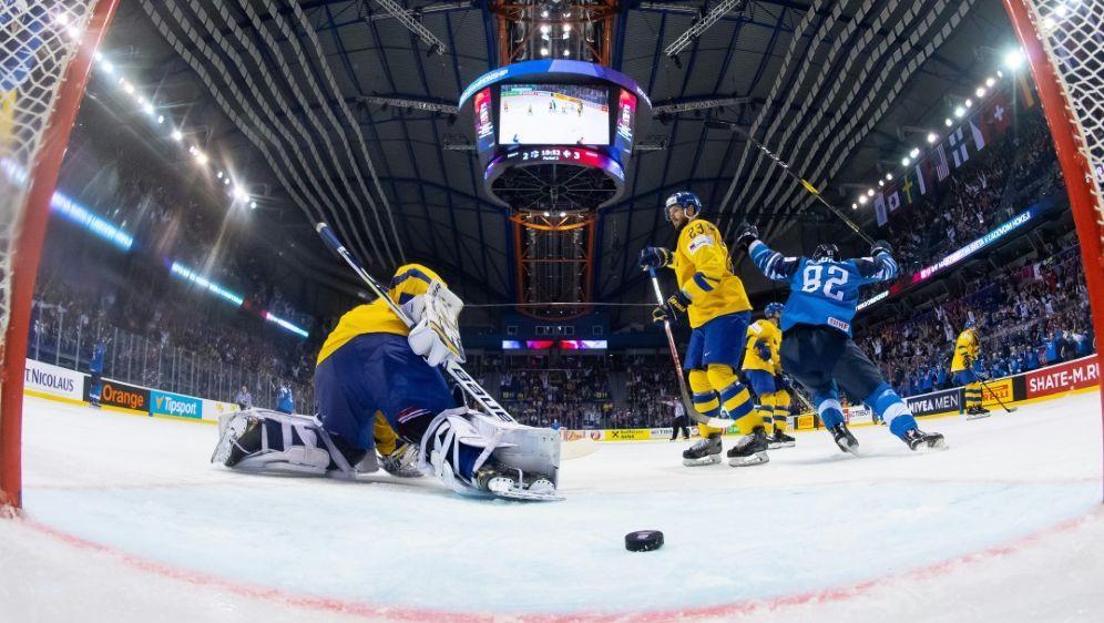 Belarus und Lettland sollen die Eishockey-WM austragen - Bildquelle: AFPSIDJOEL MARKLUND