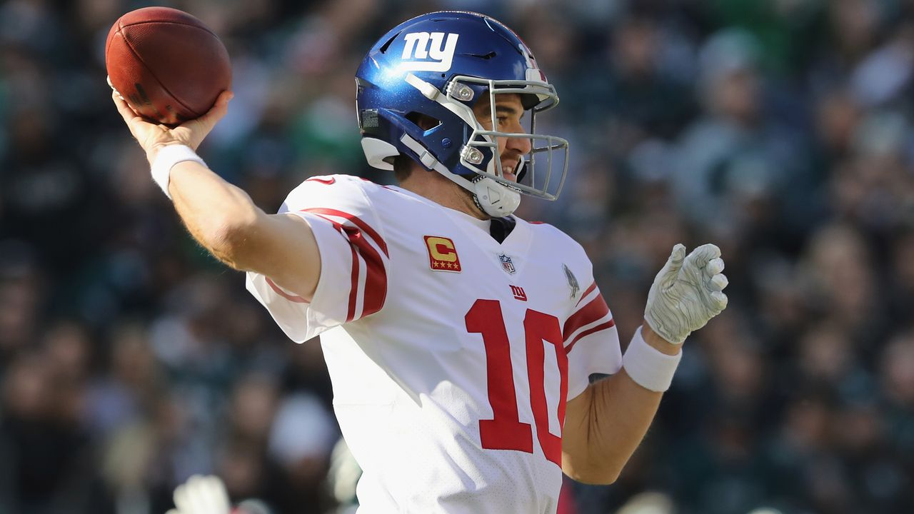 New York Giants: Eli Manning (QB) - Bildquelle: Getty