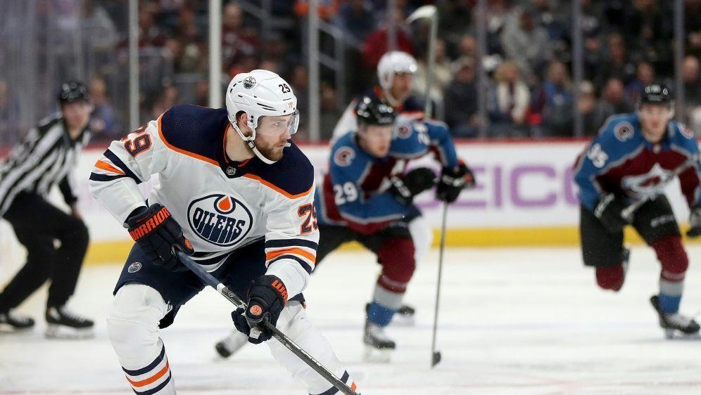 Niederlage für Leon Draisaitl und Edmonton - Bildquelle: AFPGETTY SID