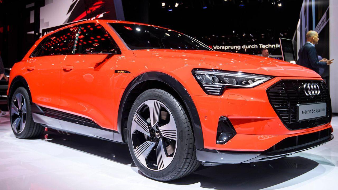 9. Audi e-tron 55 quattro 95,0  - Bildquelle: imago images / Jan Huebner