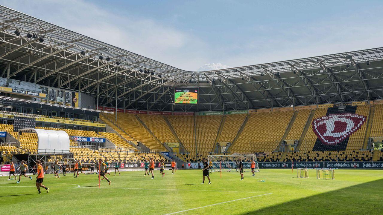 Dynamo Dresden - SC Paderborn - Bildquelle: imago images/Dennis Hetzschold