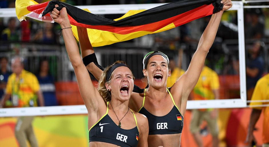 Laura Ludwig und Kira Walkenhorst: (Beachvolleyball/Gold) - Bildquelle: 2016 Getty Images