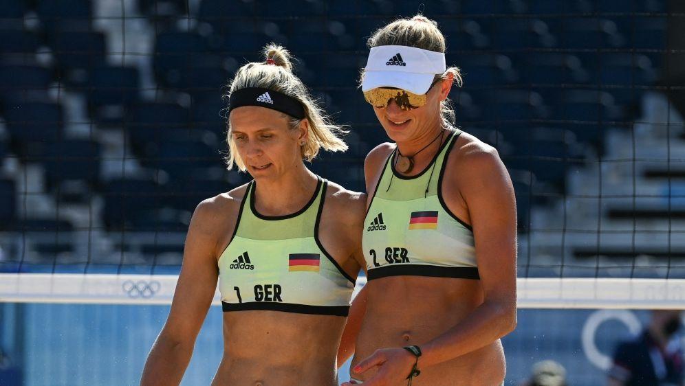 Pleite für Beachvolleyball-Duo Ludwig/Kozuch - Bildquelle: AFPSIDANGELA WEISS