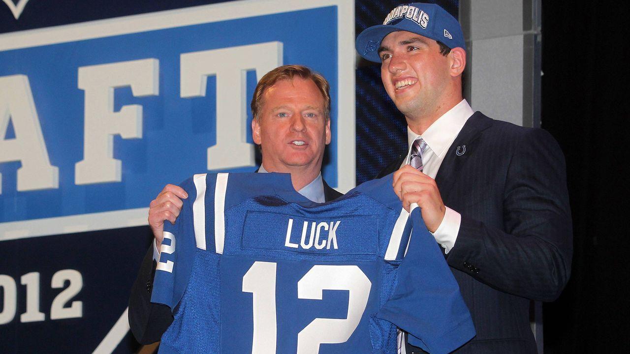 NFL Draft 2012: Andrew Luck