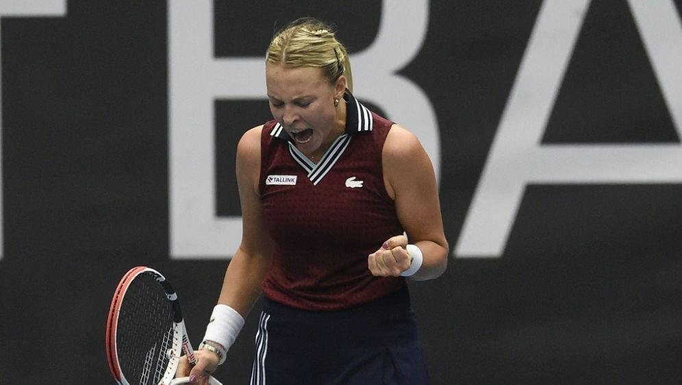 Anett Kontaveit gewinnt das WTA-Turnier von Ostrau - Bildquelle: AFPSIDMICHAL CIZEK