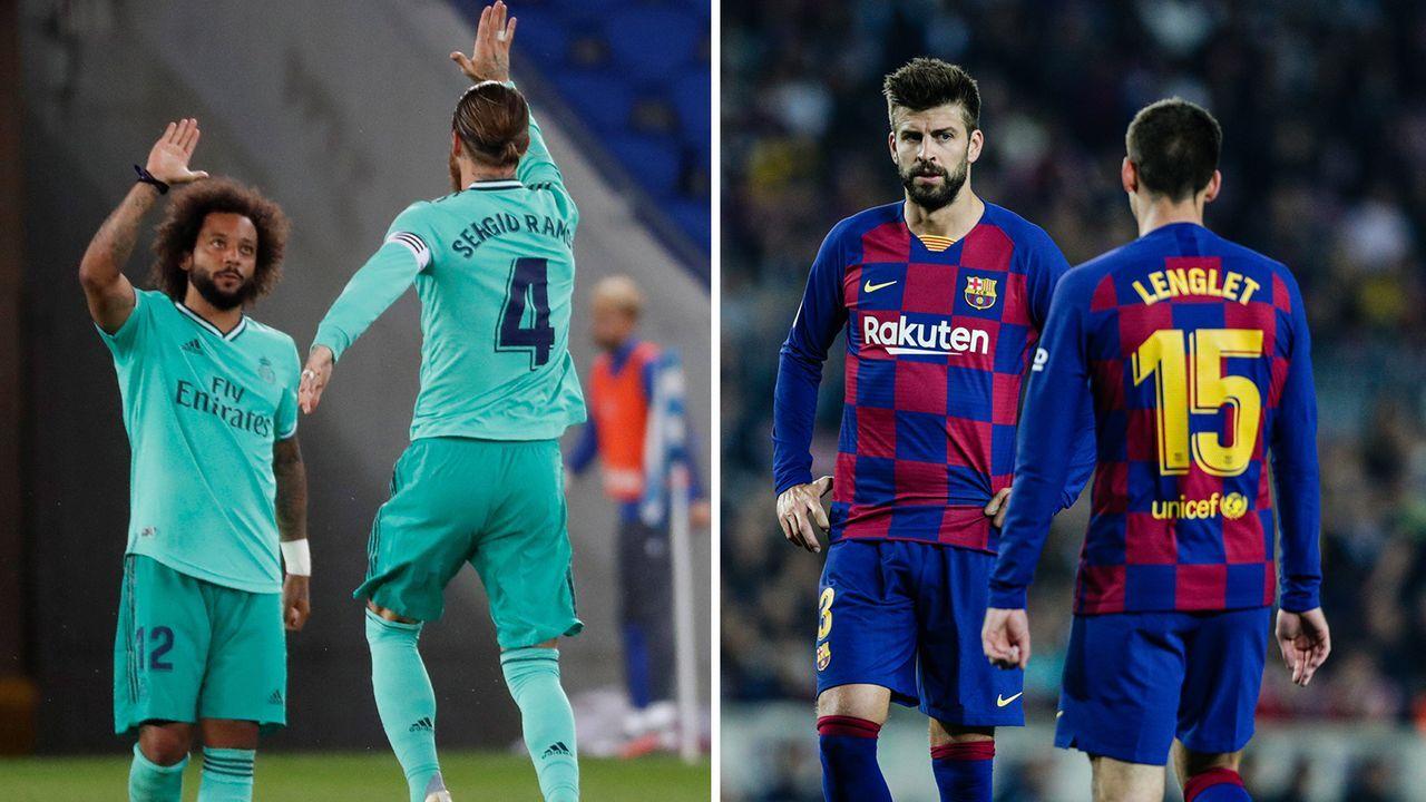 Real und Barca im Vergleich: Die Defensive - Bildquelle: Imago