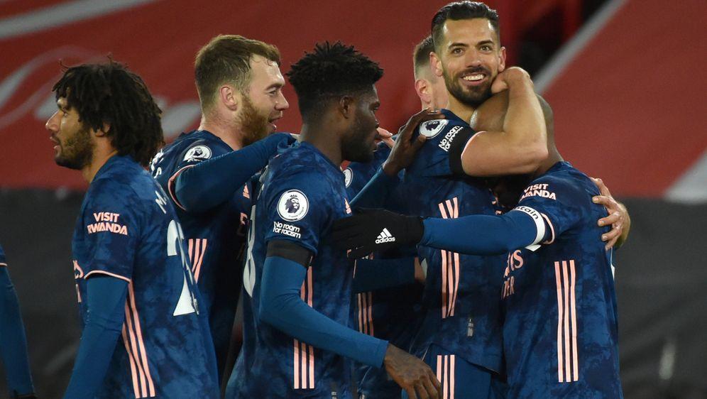 Arsenal steht im Halbfinale - Bildquelle: Getty Images