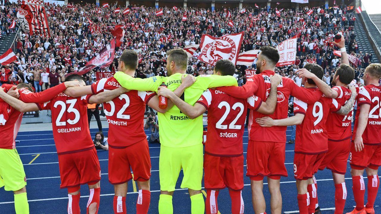 Platz 8: Fortuna Düsseldorf - Bildquelle: imago images / Annegret Hilse