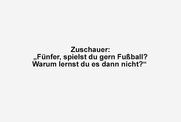 Spielst du gern Fußball? - Bildquelle: ran.de