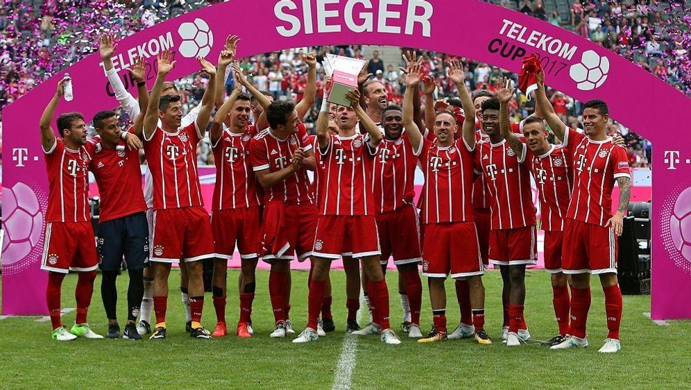 Bayern will auch in diesem Jahr den Telekom Cup gewinnen - Bildquelle: PIXATHLONPIXATHLONSID
