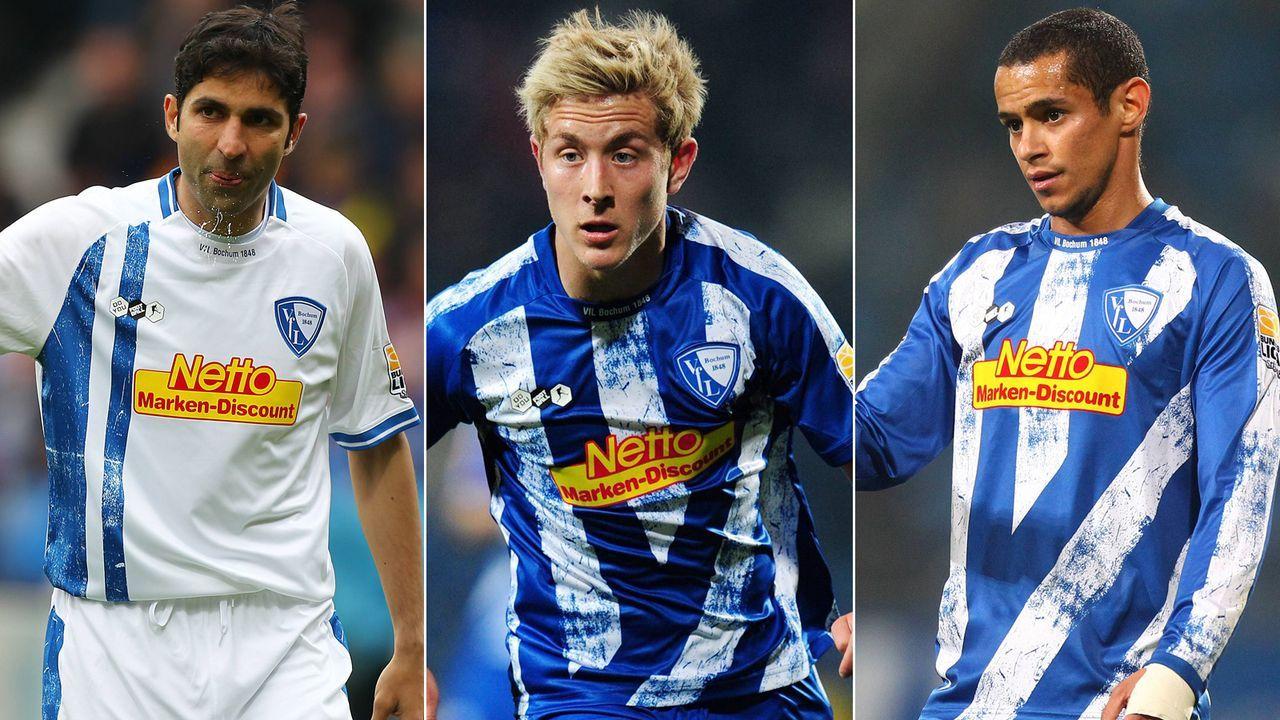 VfL Bochum: Dieses Team stand im Mai 2010 im bislang letzten Bundesliga-Spiel auf dem Feld - Bildquelle: Imago