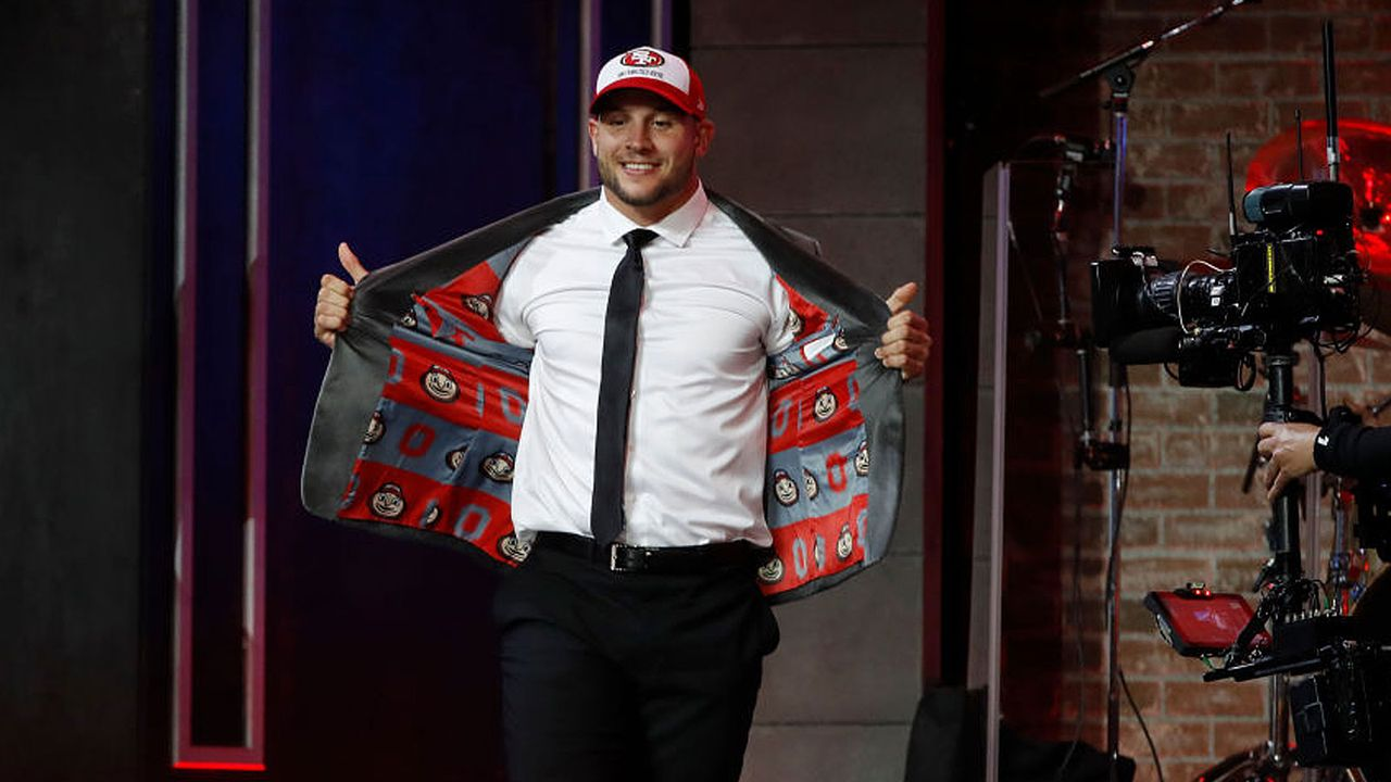Die Draft Picks der San Francisco 49ers (8) - Bildquelle: 2019 Getty Images